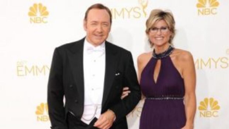 El popular actor Kevin Spacey no pudo recorrer la alfombra roja de los p...