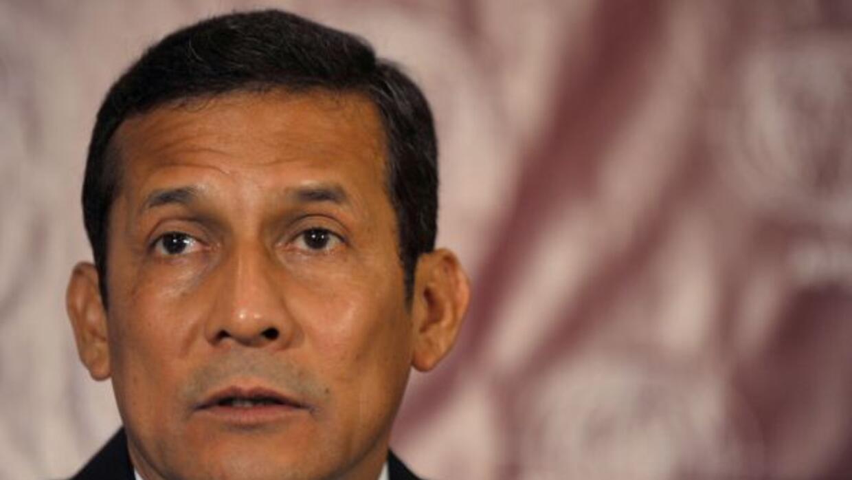 El candidato a la presidencia de Perú, Ollanta Humala, negó las acusaci...