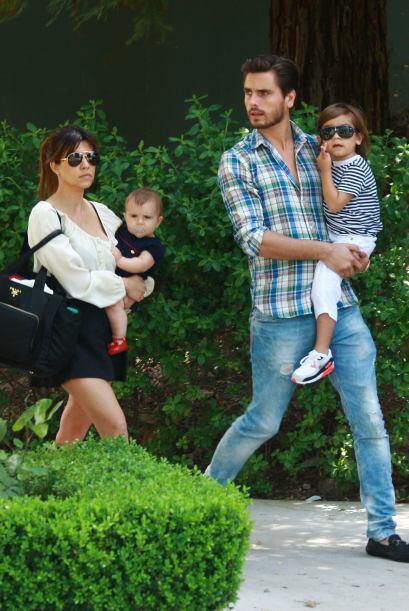Según fuentes allegadas a la familia Kardashian, Kourtney y Scott Disick...