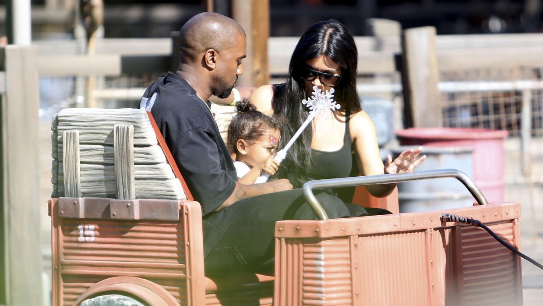 Kim Kardashian celebra a su pequeña