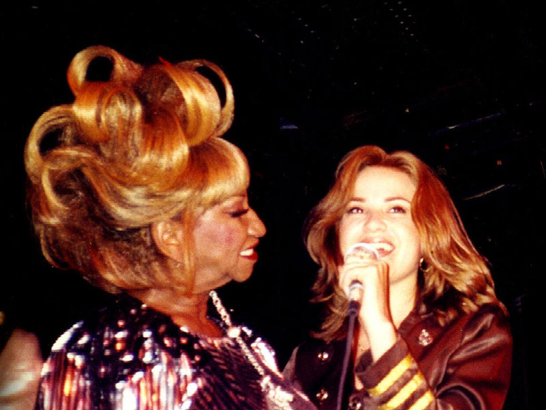 Úrsula Hilaria Celia Caridad Cruz Alfonso, cantante cubana que en...