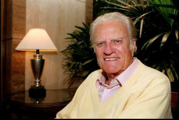 Otra persona de índole religiosa, Billy Graham, quedó en el quinto puest...