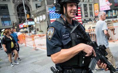 Comienza el reforzamiento de la seguridad de Nueva York