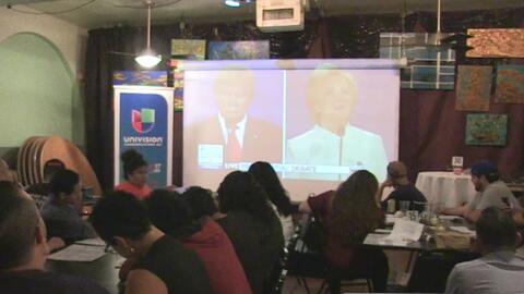 Reacciones de residentes de San Antonio luego del último debate presiden...