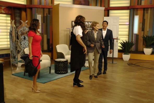 ximena no paró de reír y bailar con un estilo muy peculiar...