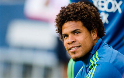 Román Torres sonríe, Seattle Sounders