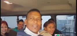 Llegan a Miami dos furgonetas llenas de cubanos