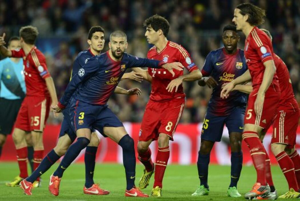Así pasaban los minutos y el Bayern se mantenía en busca de un contragol...