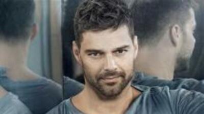 El boricua Ricky Martin se encuentra en el segundo puesto de los cantant...