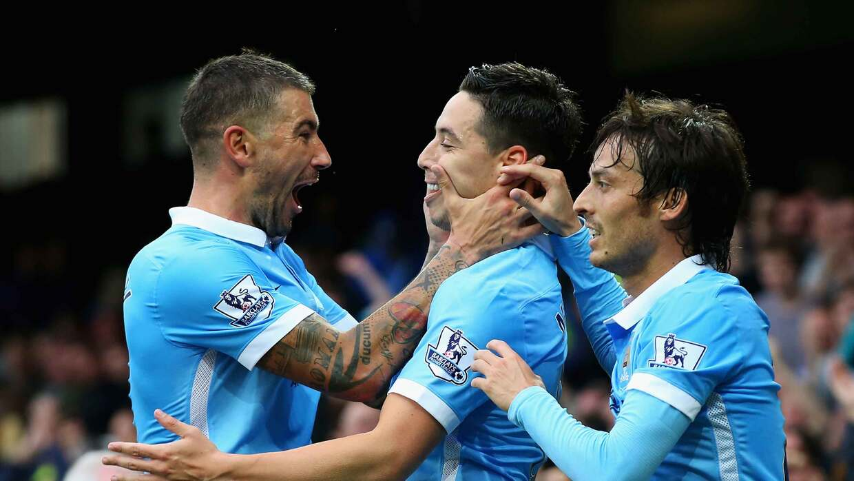 Manchester City venció a Everton de visita
