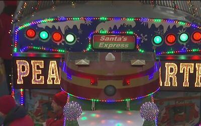Santa's Express dio inicio a la temporada navideña del 2016 tras 25 años...