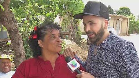 Jomari sorprendió a una mujer en el día de las madres