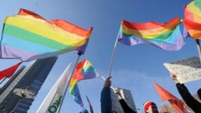 Manifestación gay.