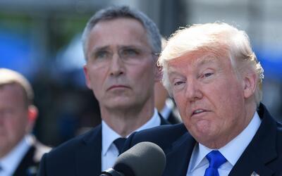 Hasta ahora, en su gira internacional Trump había evitado episodi...