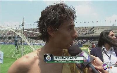 """Fernando Arce: """"Hay que estar tranquilos que esto apenas comienza"""""""