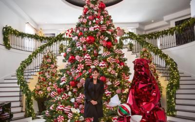 Kriss Jenner abrió las puertas de su casa para mostrar sus decora...