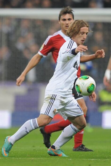 El segundo de Cristiano llegó tras un psae de Modric.