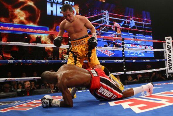 El 'Filipino Flash' tuvo su mejor momento en el décimo round.