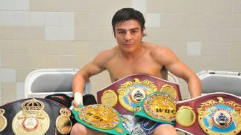 """Una brillante carrera, la del boxeador mexicano Jorge """"Travieso"""" Arce, s..."""
