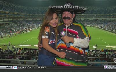 Kevin Arnulfo hizo de las suyas en el Monterrey vs América
