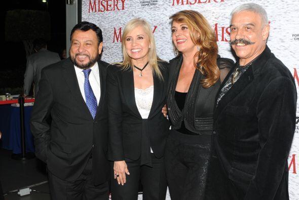 En el medio artístico, Carla y Del Toro eran muy apreciados y distinguid...