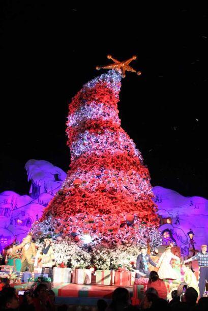 Y aunque las fotos son muy bonitas.  La temporada de navidad en Universa...