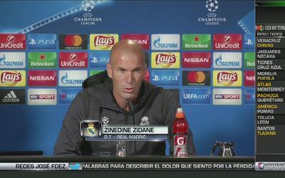 """Zidane, sobre el berrinche de Cristiano: """"Todos los jugadores pueden est..."""