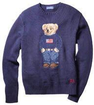 Un regalo muy tierno es el sueter con estampado de oso de Polo Ralph Lau...