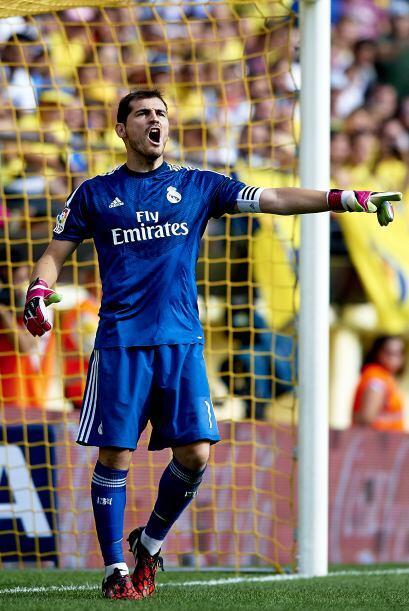 Casillas volvió a la portería del Madrid y fue importante en la victoria..
