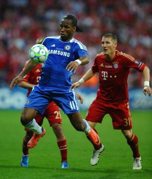 Didier Drogba fue una isla en el ataque del Chelsea.