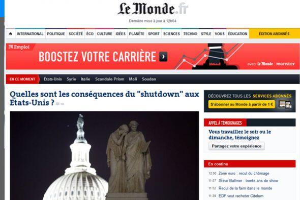En tanto, en Francia, el diario Le Monde, se pregunta ¿Cuá...