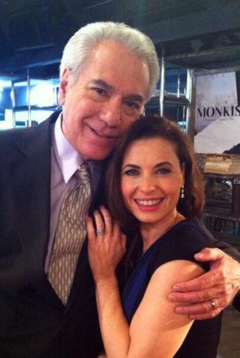 "También la vimos en ""Amor Bravío"" junto a Silvia Navarro."