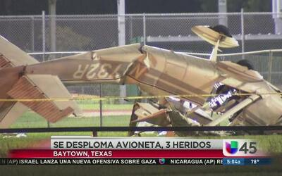 Equipos de rescate actúan ante accidente aéreo