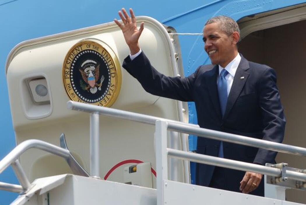 La visita de Obama será de 22 horas, durante las cuales sostendrá una re...