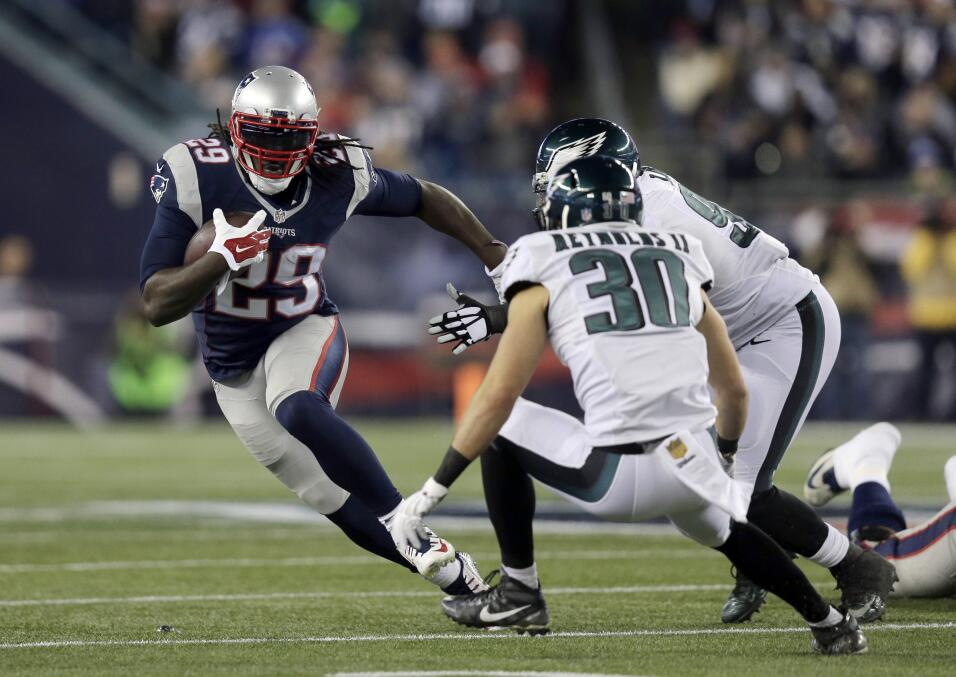 Los Philadelphia Eagles vencieron 35 - 28 a los New England Patriots que...