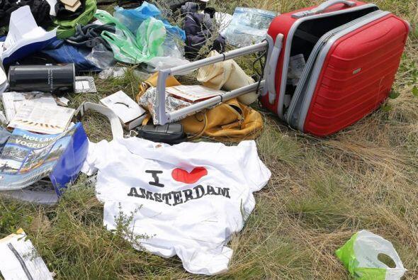 Estos son algunos de los objetos recuperados tras el mortal derribo del...