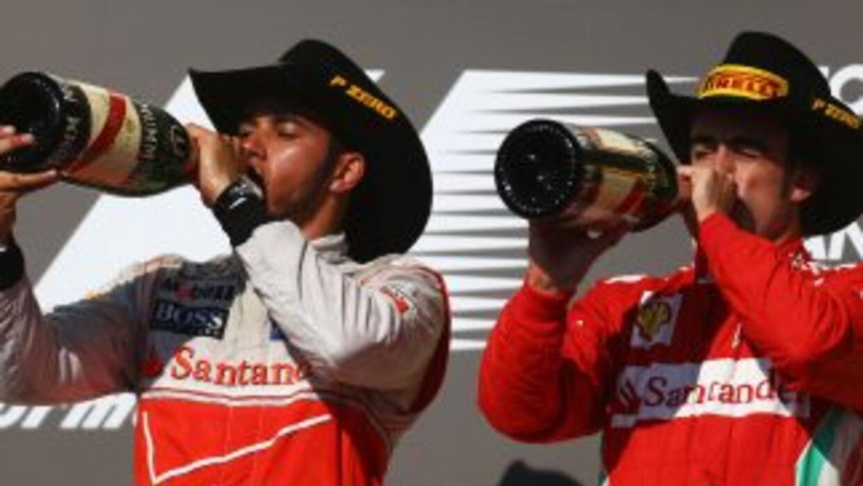 Para Lewis Hamilton, el rival a vencer es Fernando Alonso.