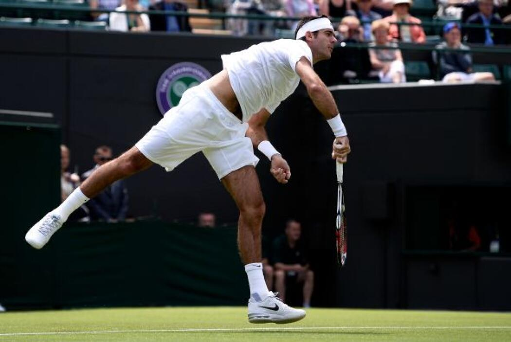 Del Potro, de 24 años, se reencontró con el ambiente de un Grand Slam en...