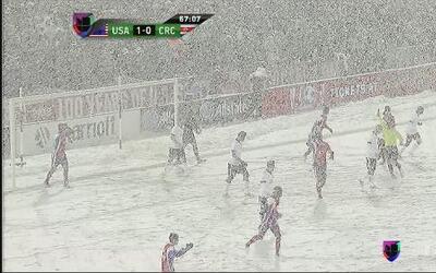 Estados Unidos 1-0 Costa Rica... Se llevan la batalla en la nieve