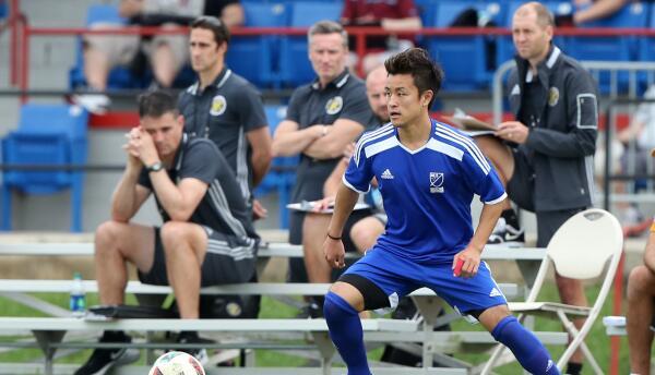 Tsubasah Endoh, MLS Combine
