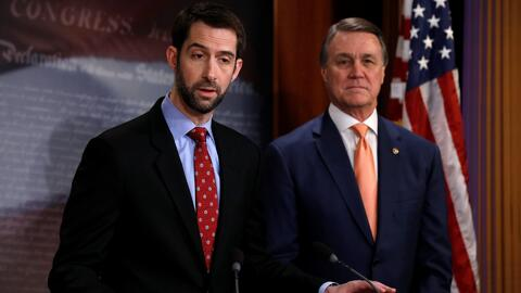 Senadores republicanos proponen eliminar la lotería de visas, entre otra...