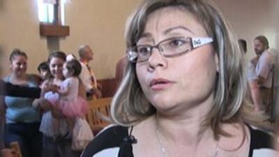 La inmigrante indocumentada mexicana Rosa Robles.