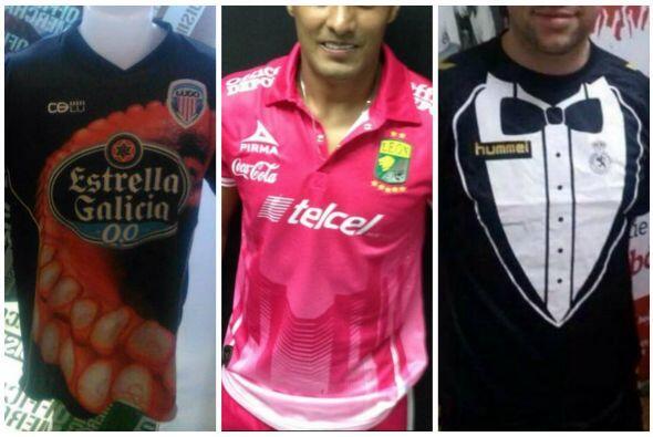 Mira los uniformes que han causado polémica entre aficionados de estos e...