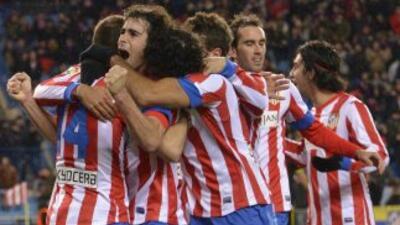 Un gol de Diego Costa firmó el empate de los 'Colchoneros' ante el Betis...