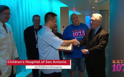 KXTN Visits The Children's Hospital of San Antonio