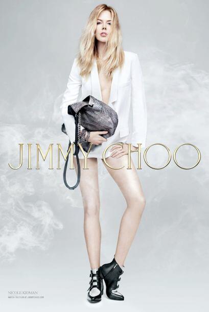 ¡Nicole Kidman y Jimmy Choo siempre resultan una combinación de diez! Aq...