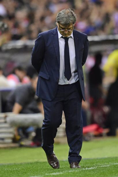 El 'Tata' Martino aceptaba la derrota de su club.