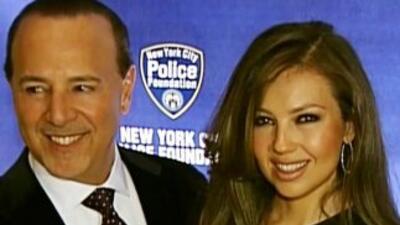 Tommy y Thalia, dueños de Nueva York
