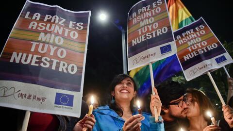 Colombia celebra el acuerdo final de paz