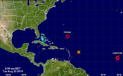 Es la séptima tormenta tropical de la temporada de huracanes en la cuenc...
